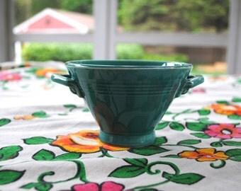 Fiestaware Harlequin Turquoise Sugar Bowl