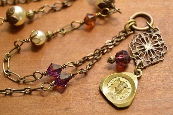 religious catholic necklace catholic jewelry