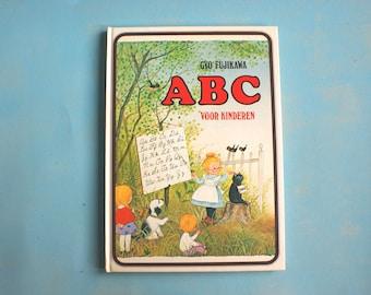 Gyo Fujikawa illustrated this book ABC for children