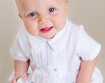 David Christening, Baptism, Blessing Outfit for Baby Boys