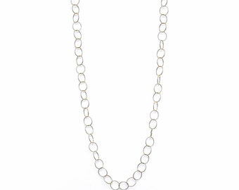 Layering Ana Hoop Chain Necklace