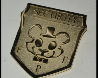 FNAF Security Badge Pin