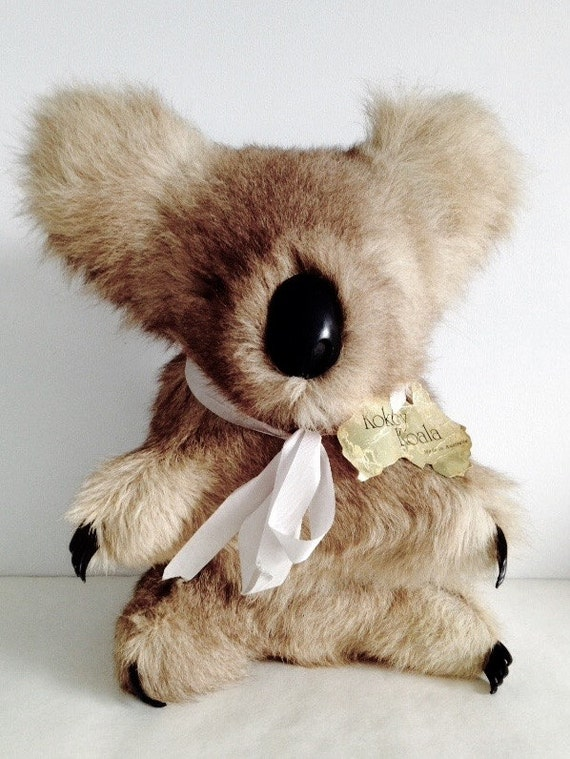 Vintage Fur Koala Bear Kokey Koala Made in Australia