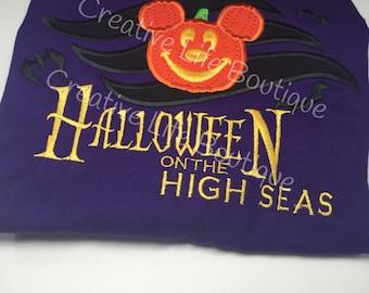 disney Halloween on the High Seas - Adult- Disney Cruise, Disney Halloween Cruise