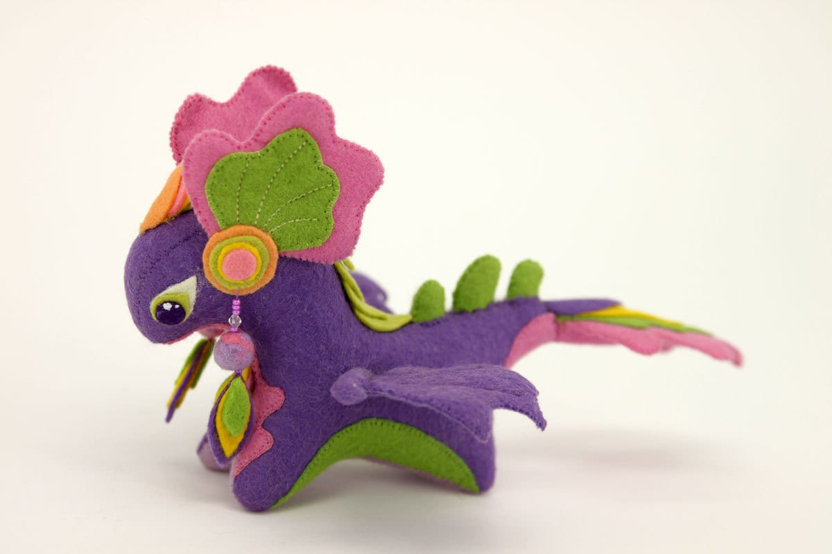 Squishy Dragon Toys : Soft toy dragon fantasy plush animal textile toys Soft