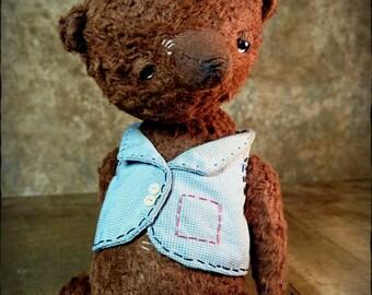 OOAK Artist Teddy Bear BROWN BERRY  by Jevgeni Bulahtin
