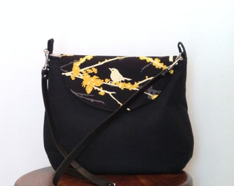Cross body Bag / Cross body Purse //Shoulder Bag / Purse / Black