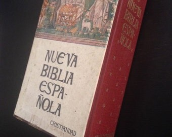 Vintage Bible from Spain - 1975