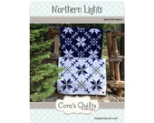 Northern Lights DIGITAL pdf Quilt Pattern by Cora's Quilts (#1413)