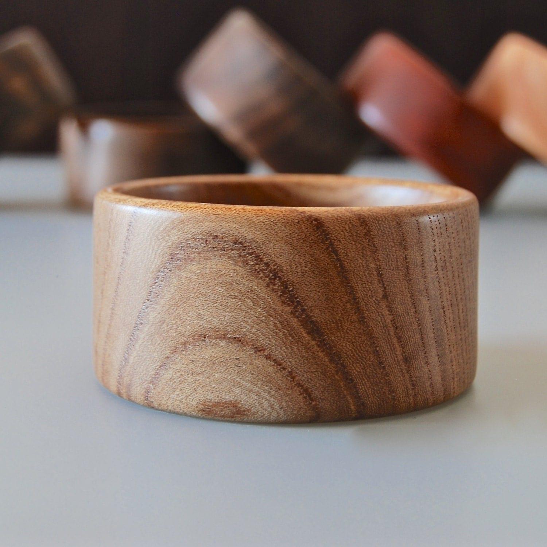 Ash Wood Boho Bangle Bracelet Eco-friendly Jewelry