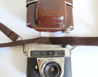 Kodak Retina II 2 F with Schneider 45mm Lens & Case, Made in Germany, RARE Model