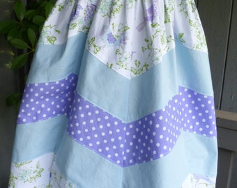 Little girls maxi length dress