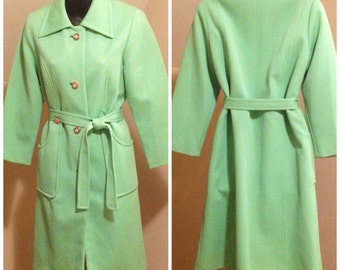 True Vintage From The 60's  Spring Coat