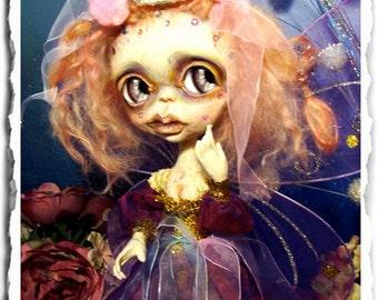 OOAK Fairy Princess Art Doll OOAK - One of a Kind