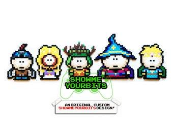 South Park - Stick of Truth Perler Sprites