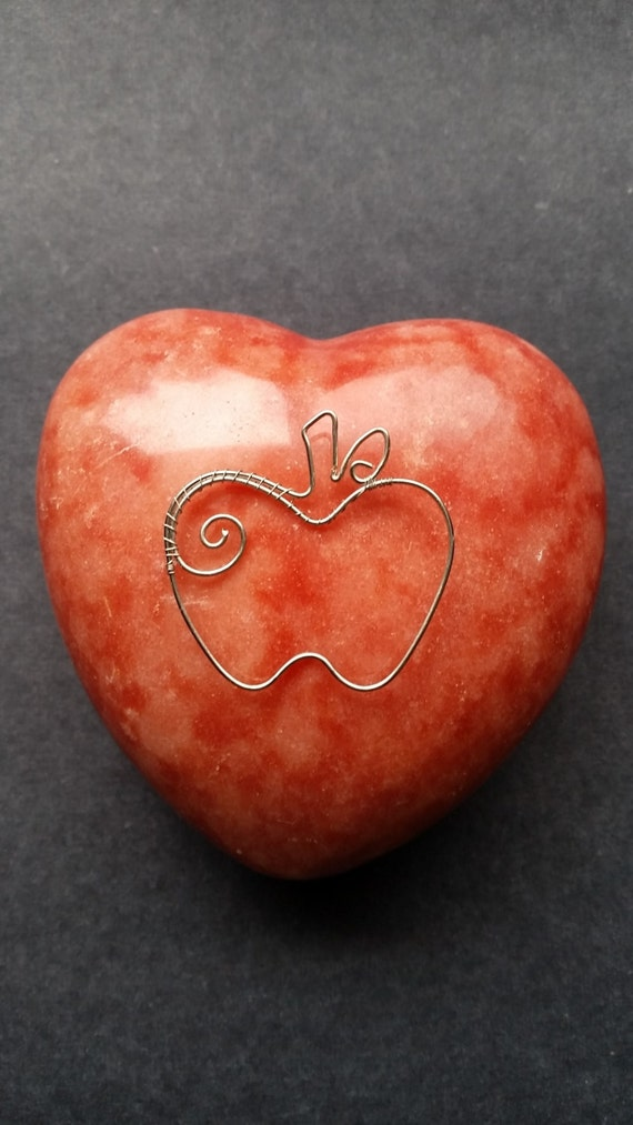 Apple Jewelry For Teachers Teacher Apple Appreciation