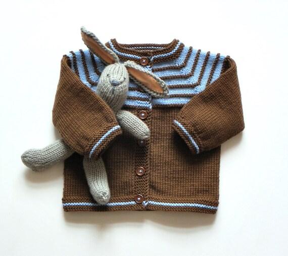 braun baby jungen pullover stricken baby kleidung braun und. Black Bedroom Furniture Sets. Home Design Ideas