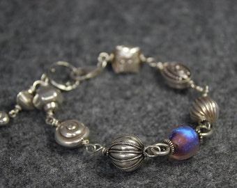 SALE  Stunning Solid Sterling Silver Bracelet