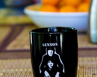 John Lennon and Paul Mccartney coffee mug - great gift for any coffee lover in your life, mother, father, wife husband.