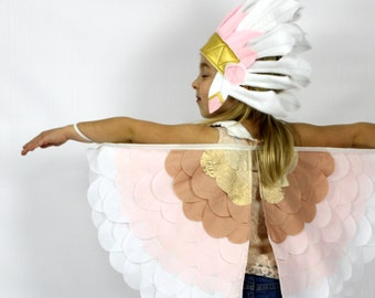 The Bird Wings - Blush - Handmade Children's Costume