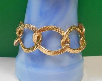 CLEARANCE Lightweight Golden Chunky Chain Link Bracelet
