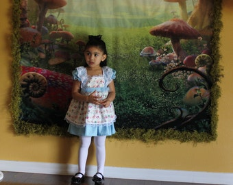 Alice in Wonderland Lolita Inspired Dress