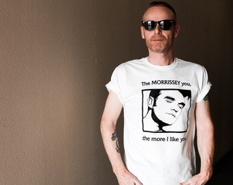 Fathers Day Gift, The Smiths, Morrissey Shirt, Morrissey T Shirt, 90s Clothing, Unhappy Birthday
