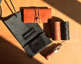 Leather Tobacco Pouch,Handmade pouch