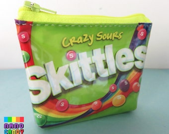 Skittles Crazy Sours Zip Purse