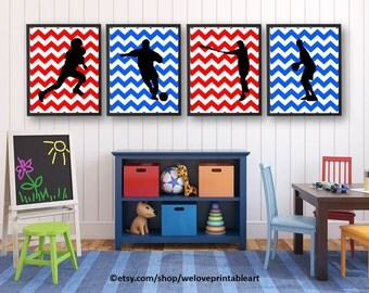 Sports Wall Art view sports wall artweloveprintableart on etsy