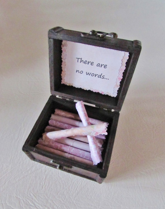 Sympathy Scroll Box, Sympathy Gift, Sympathy Card, Bereavement Gift, Bereavement Card, Bereavement Jewelry, Sympathy Jewelry, Memory Box