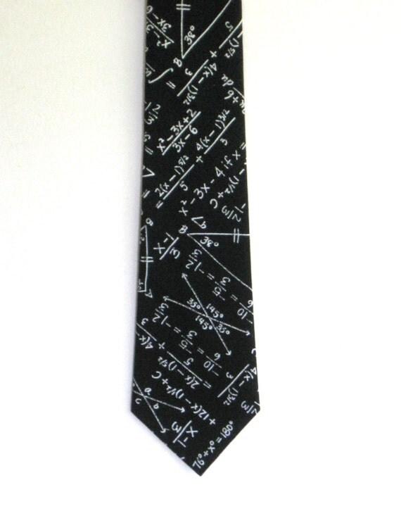 calculus 1a math necktie