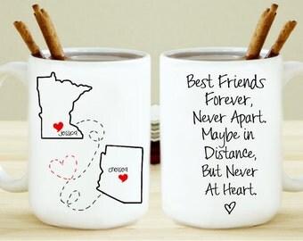 Set of 2 Never Apart Mugs