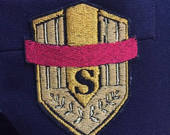 Ace of Diamond/Daiya no Ace Seidou School Uniform Embroidered Cosplay Patches