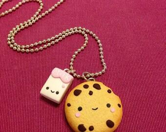 Cokiee & Milk kawaii, Best friend, BFF, necklace