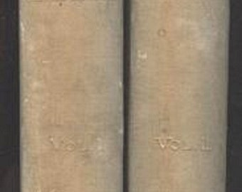 Alfred De Vigny, Cinq-Mars or a Conspiricy under Louis XIII, 1st Limited Edition 1889, illustrated by Dawant, 2 volumes History Vintage Book