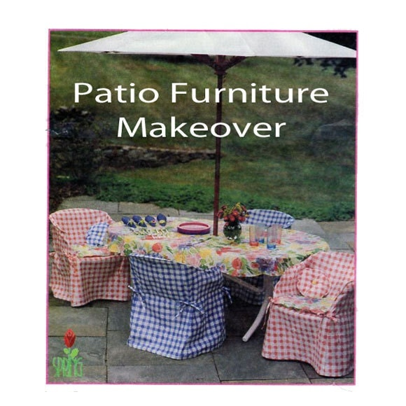Mccalls 9258 Diy Patio Furniture Slip Covers Style Up