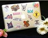 1000+ Awesome band, tumblr, fandom, grunge, kawaii sticker designs (you pick) (please read desc) - 1st June's batch