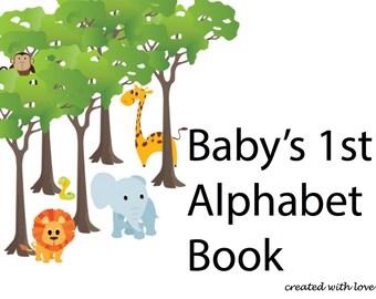 Baby's 1st Alphabet Book