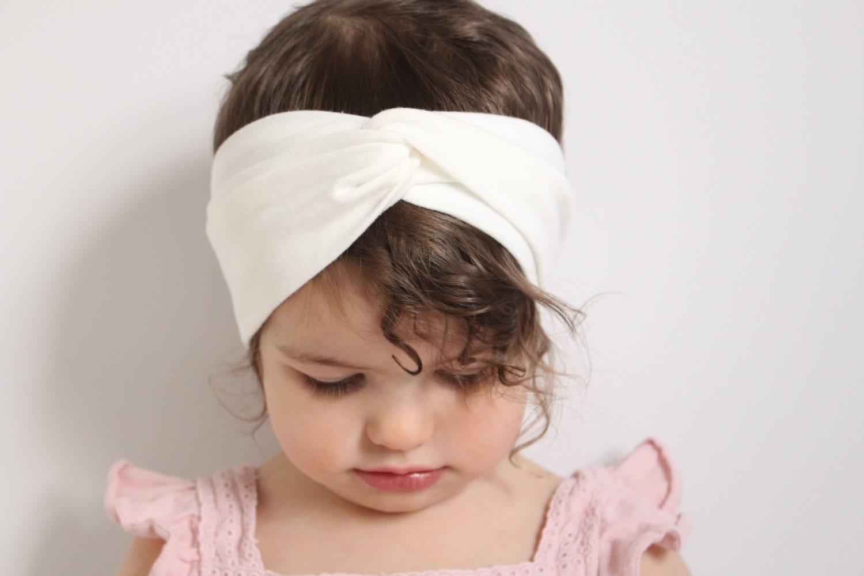 how to make a baby turban headband