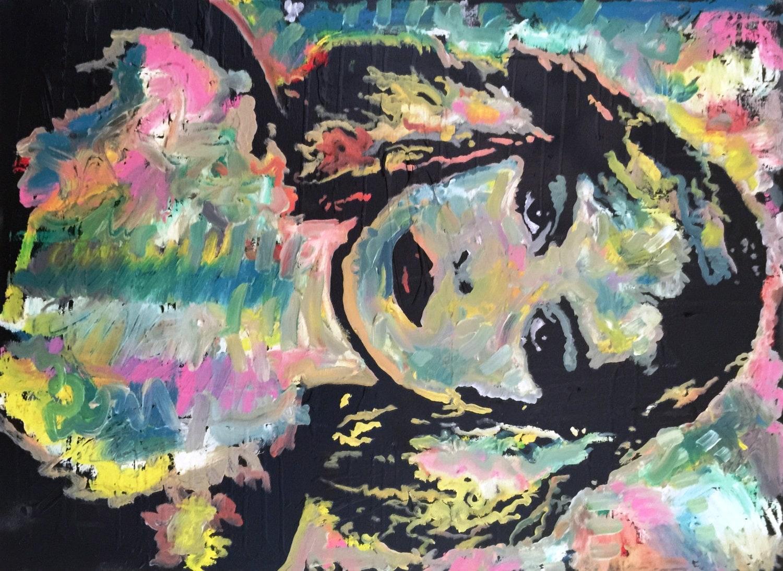 Debbie Harry Art Blondie Painting by Matt Pecson Punk Rock