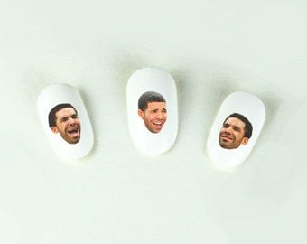 DrakeFace Nail Decals