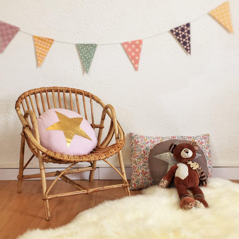 fauteuils rotin enfant ann es 60 vintage mod le hugues. Black Bedroom Furniture Sets. Home Design Ideas