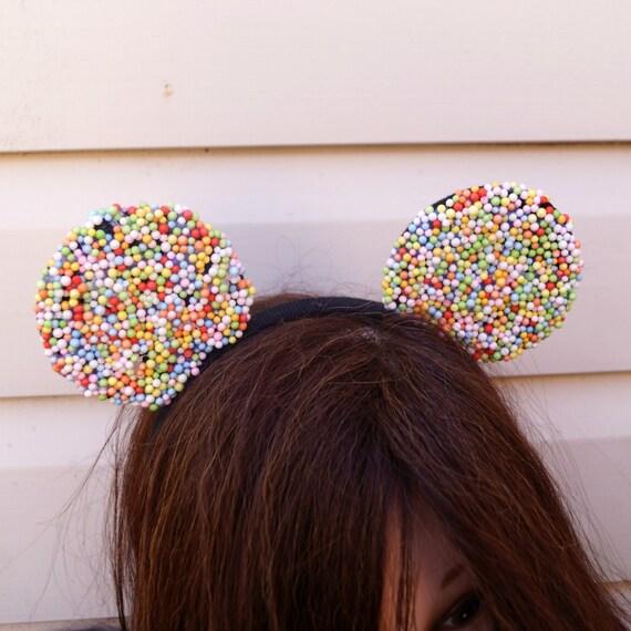 Kawaii  Sprinkles Minnie Ears Headband.