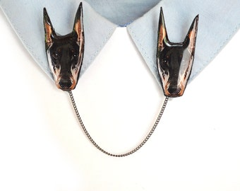 Doberman pinscher , gift for dog owner , dog lover gift , doberman pinscher jewelry , oberman lover , doberman jewelry , doberman gift