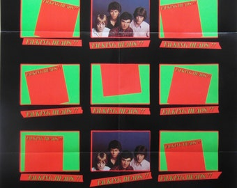 Original 1977 Talking Heads Promotional Poster for their Debut Album 'Talking Heads 77'