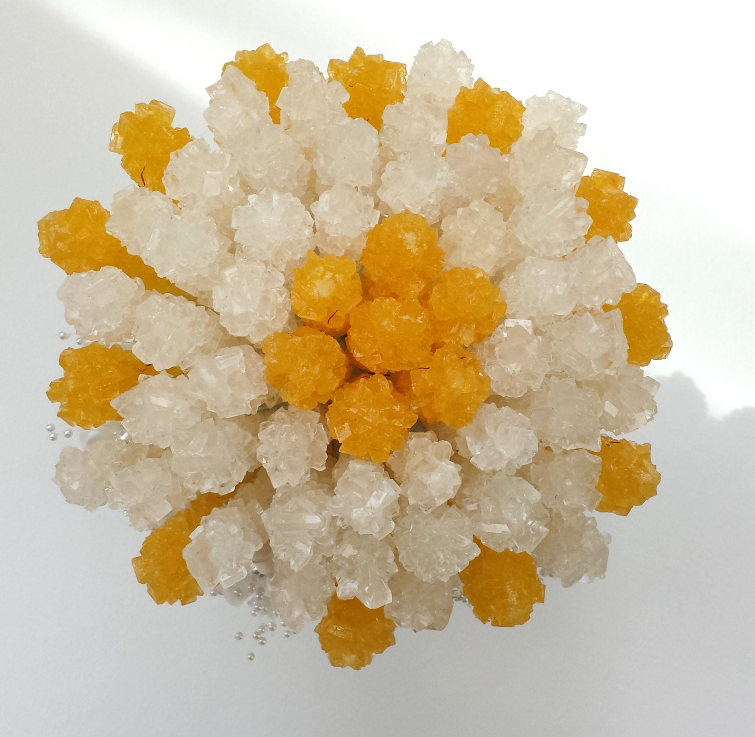 Rock candy centerpiece sofreh aghd persian wedding