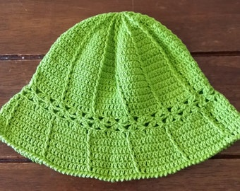 Boys- Little Boys Crochet Summer Hat -  Handmade- Made In Australia