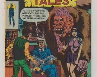 Midnight Tales; Vol 1, 14 Bronze Age Comic Book. FN+ September 1975. Charlton Comics