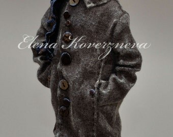 The Horse in the coat art doll - Handmade doll !available for order! for example!